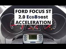 ford focus st 2 0 ecoboost 250 hp acceleration 0 100 km