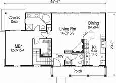 2 bedroom country house plans country house plan 2 bedrooms 2 bath 1348 sq ft plan