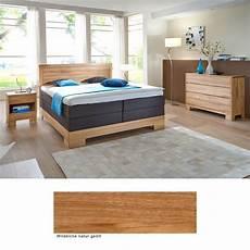Welches Holz Passt Zu Kernbuche - schlafzimmer lille premium eiche massiv boxspringbett