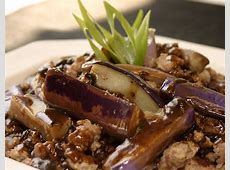 eggplant and pork with black bean garlic sauce_image