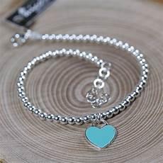 braccialetto vasco bracciale con cuore argento gioielli con diamanti popolari