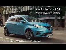 Pub Nouvelle Renault Zoe 100 233 Lectrique Autonomie