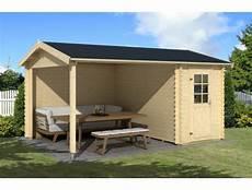 gartenhaus mit boden gartenhaus 427x300cm 28mm blockbohlen mit boden mit