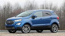 2018 Ford Ecosport Drive Downsizing Driving