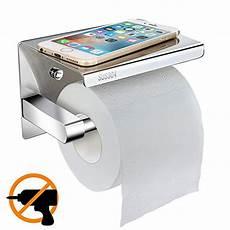 Wc Papierhalter Ohne Bohren - montageh 246 he wc rollenhalter toilettenpapierhalter