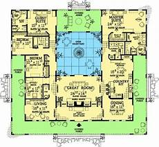 spanish style house plans with central courtyard oconnorhomesinc com the best of spanish style house