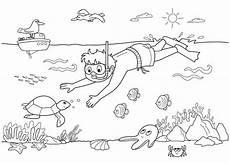 Malvorlagen Meer Und Strand Lyrics Sommer Kostenlose Malvorlage Unterwasserwelt Kostenlos