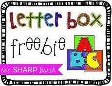 worksheets printable 15561 letter box freebie lettering alphabet activities letter identification activities
