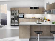luxurious touch applying a modern kitchen cabinets