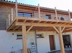terrasse en kit a enchanteur terrasse sur pilotis en