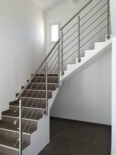 garde corps pour escalier pose d un garde corps en inox pour escalier chez un
