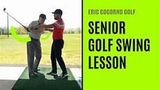 swing lessons golf senior golf swing lesson
