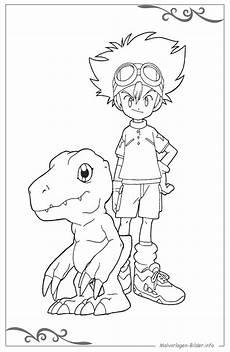 Ausmalbilder Fuer Jungs Digimon Malvorlagen F 252 R Jungs Zum Ausdrucken