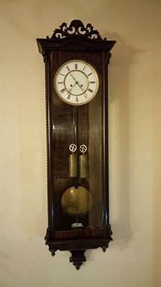 wenzel schonberger vienna regulator clock at antique clock