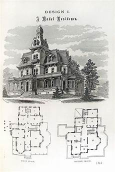 vintage victorian house plans an old and traditional victorian with it s floor plan as