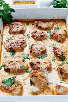 Gerichte Mit Schweinefilet - schweinefilet mit bacon in currysahne rezept rezepte