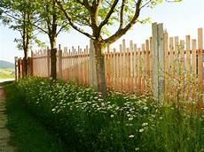 Natürlicher Sichtschutz Im Garten - zaun sichtschutz natur holz gartengestaltung gartenbau