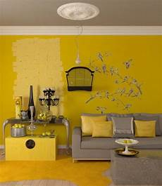 sunny yellow paint colors make your living room feels warm stunning gray yellow living room