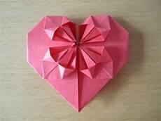 Herz Aus Papier Falten Origami Einfach Und Sch 246 N