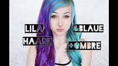 lila blaue haare lila blaue haare ombre spitzen