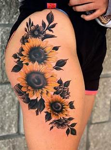 55 pretty sunflower tattoos let you sunshine page 25