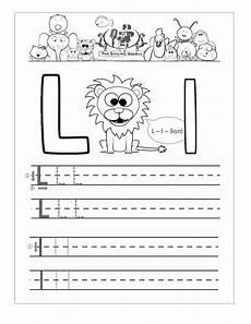 printable worksheets for letter l 24565 free handwriting worksheets for the alphabet