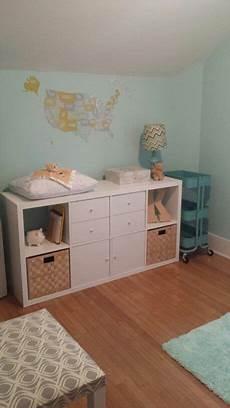 Ikea Kallax Changing Table Room Playroom