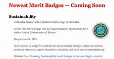 environmental science worksheets boy scouts 12141 boy scouts require new sustainability merit badge for eagle rank junkscience