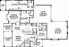 house plans with inlaw apartment separate plan 9517rw in law quarters a plus mother in law