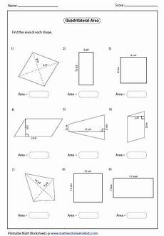 quadrilaterals worksheet homeschooldressage com