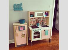 IKEA DUKTIG Play kitchen hack in 2019   Ikea kids kitchen
