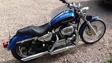 2004 Harley Davidson Sportster 1200 Custom Idle And Rev