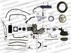 Roketa Mc 54b 250 Engine And Rear Wheel Assembly Parts