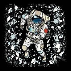 Gambar Animasi Astronot Tidur Gambar Animasi Keren