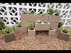 How To Build A Cinder Block Garden Wall With Justin