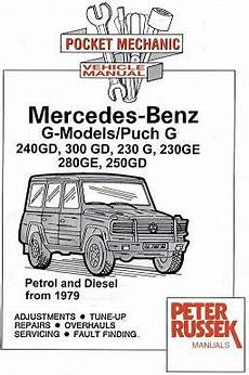 small engine repair manuals free download 1992 mercedes benz 190e windshield wipe control 1979 1992 mercedes benz g models puch g 240gd 300gd