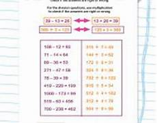 inverse operations in primary maths explained for parents