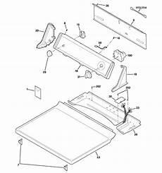 ge electric dryer parts diagram ge electric dryer parts model dvl223eb4ww sears partsdirect