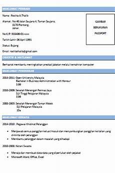 contoh resume yang mudah virallah