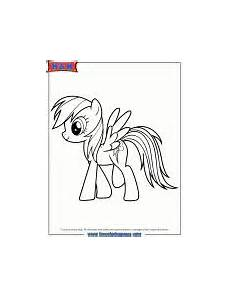 Malvorlagen My Pony Wattpad Fans Request Rainbow Dash Equestria Coloring Pages