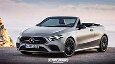 2019 Mercedes A Class Coupe And Cabrio Renderings