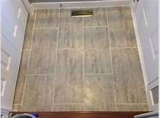 Traffic master Ceramica vinyl groutable tile in Natural