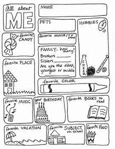 all about me freebie by science math doodles school stuff school classroom first day of