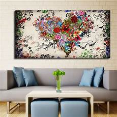 Modern Big Canvas Wall Canvas Painting Watercolor