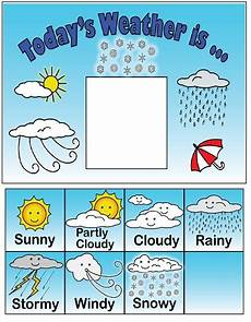 weather chart for elementary classrooms