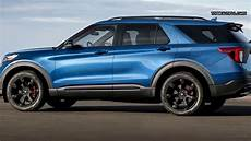 2020 ford st 2020 ford explorer st blue specs and testdrive