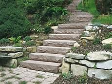 treppe selber bauen stein gartentreppe selber bauen 40 beispiele