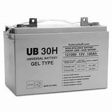 batterie a gel 30h gel battery ub30h 12v as low as 269 95