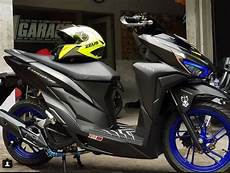 Modifikasi Vario 2019 by 28 Top Terbaru Modifikasi Skotlet Vario 150 Warna Hitam