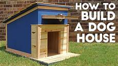 how to build a dog house modern builds ep 41 youtube